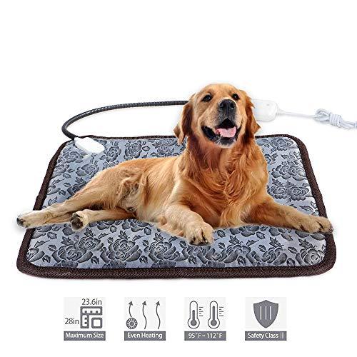 Huisdieren elektrische bedmat, zachte warme fleece, pootafdruk, huisdier, hond, kat deken, bedmat, sofa, huisdier, warm product, kussensloop, handdoek 5 stuks B