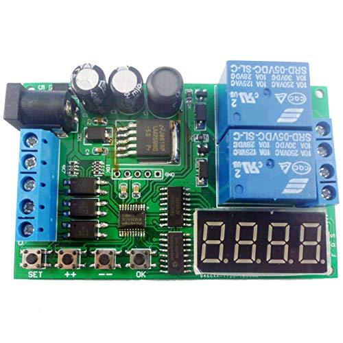 Gesh 5 V 9 V 12 V 24 V /AC controlador del motor relé Junta de control hacia adelante marcha atrás automático cronometraje ciclo límite inicio interruptor de parada