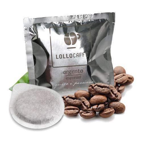 300 Cialde Filtro Carta 44Mm Lollo Caffe' Miscela Argento Espresso