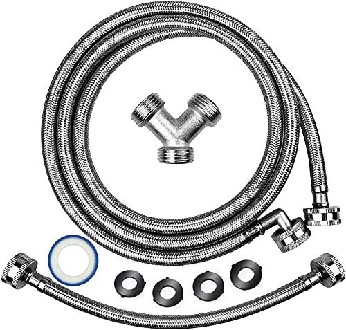 Premium Steam Dryer Installation Kit,Steam Dryer Hose Kit Stainless...