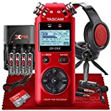Tascam DR-05X Stereo Handheld Digital Audio Recorder with USB Audio...