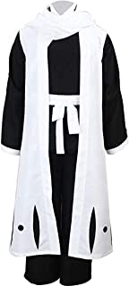 Bleach Cosplay Kuchiki Byakuya 3rd Squad Six Captain Uniform Robe Cloak Costume