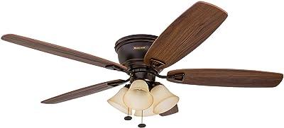 Honeywell Ceiling Fans 50183 Glen Alden Ceiling Fan, Bronze