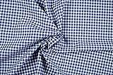 Stoffe Schulz | Baumwollstoff Zefir Vichy Karo, 0,5 cm,