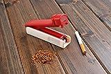 The Khan Outdoor & Lifestyle Company Maquina para entubar Cigarrillos/inyectar Tabaco (11.5cm x 3cm x 4cm), plástico, de Color Amarillo, 5810-02 DE