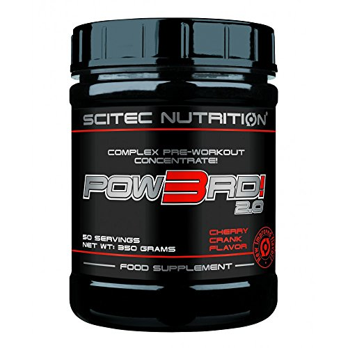 Scitec Nutrition Pow3rd 2.0 Birne 350g Komplexes Pre-Workout Konzentrat Top-energy24 Spezialangebot