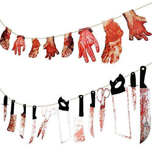 LOVEXIU Halloween Decoracion,Decoracion Halloween Casa,Halloween Decoracion Terror Interiores,Decoracion Halloween Exterior, para Halloween Decorations De Fiestas En Casa