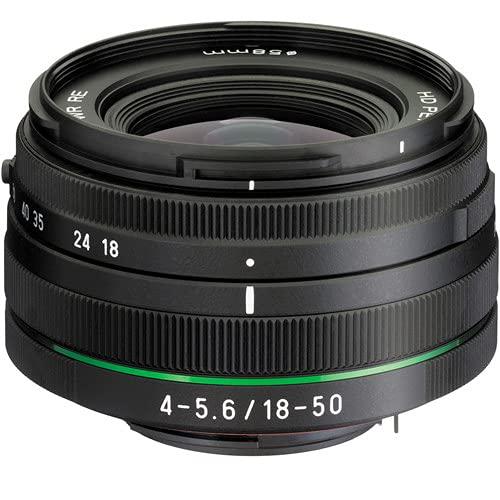 Pentax smc DA L 18-50 mm f/4.0-5.6 DC WR RE Objektiv (schwarz)