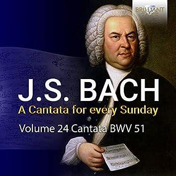 J.S. Bach: Jauchzet Gott in allen Landen, BWV 51