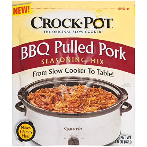crock pot barbecue chickens Crock Pot Seasoning Mix, BBQ Pulled Pork, 1.5 Ounce (Pack of 12)