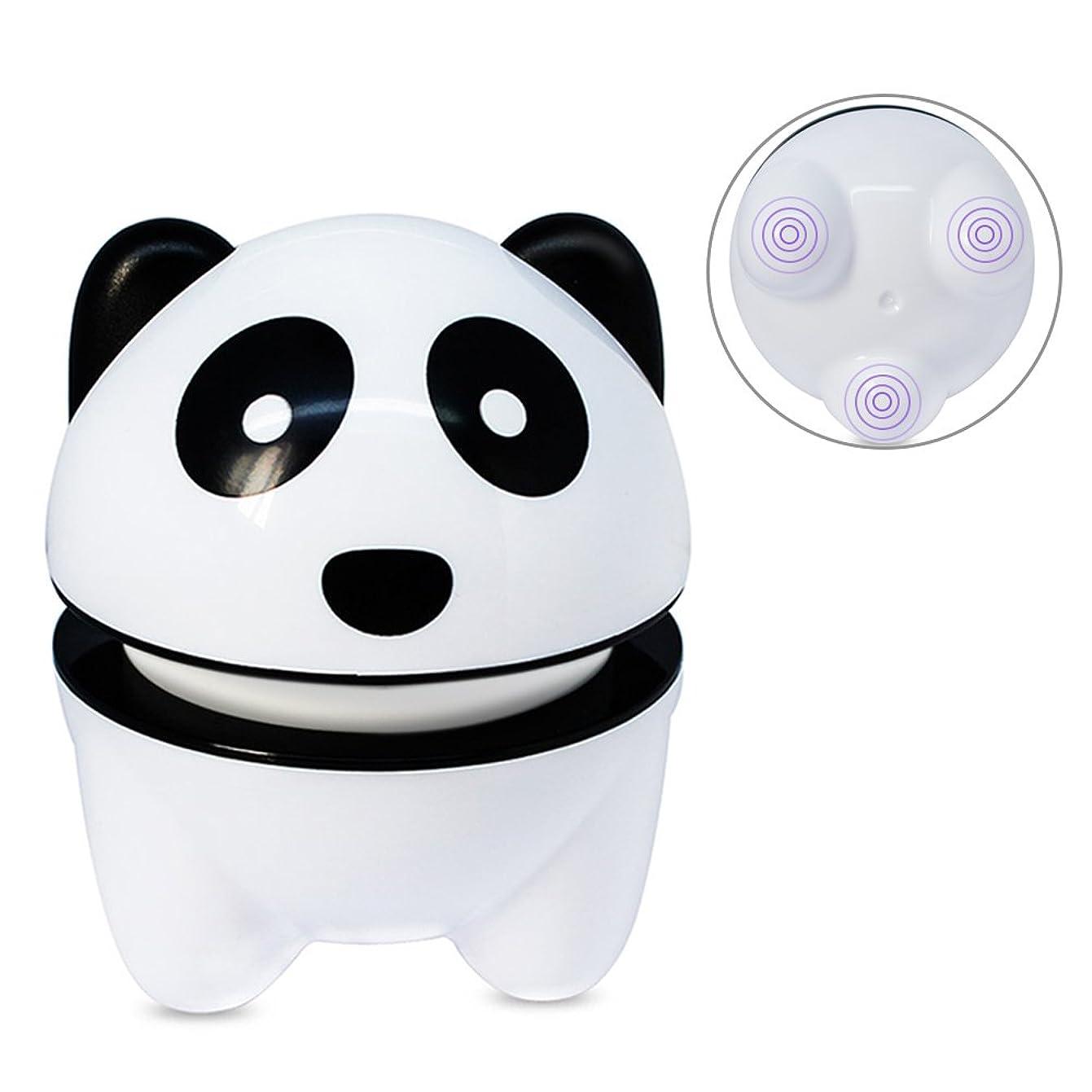 桃ノベルティクレジットSameiyi マッサージ器 ハンディマッサージャー 強力 小型 電動 可愛いパンダ 静音 肩こり 全身 USB充電 プレゼント