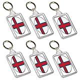 Schlüsselanhänger mit Flagge der Färöer-Inseln, Partytütenfüller, Veranstaltungen, Feiern, Sammler, Dekorationen, Sockenfüller (12 Stück)