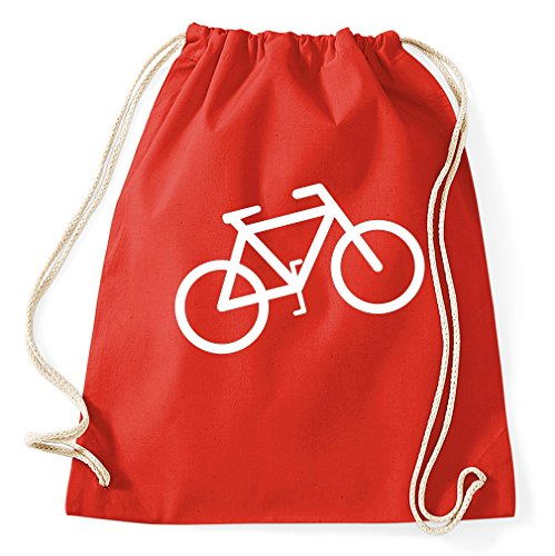 Styletex23 Gymtas met logo voor fiets, sporttas