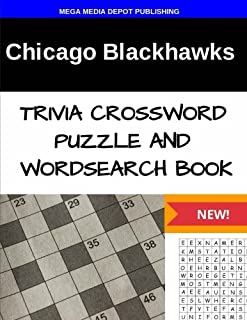 Chicago Blackhawks Trivia Crossword Puzzle and Word Search Book