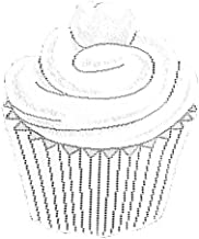 Heritage Lace Cupcake 15-Inch by 17-Inch Set of Two White Placemat