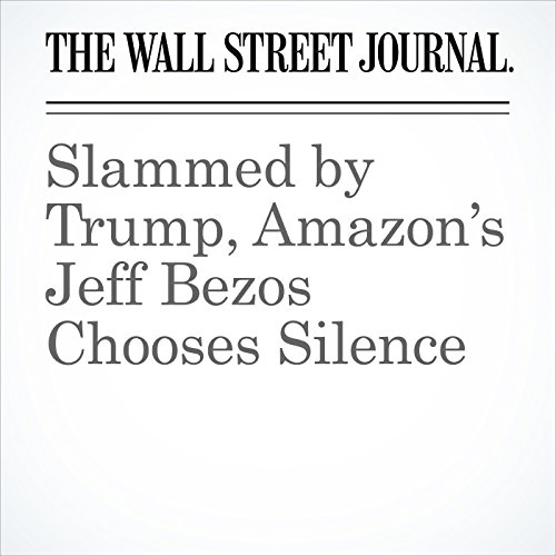 Slammed by Trump, Amazon's Jeff Bezos Chooses Silence copertina