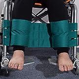nonbrand Wheelchair Leg Restraint Belt, Calf restraint strap, Non-Slip Anti-Fall Foot Support Strap, for Patients, Elderly & Seniors, Handicap