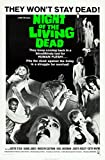 Night of The Living Dead (1968, George A. Romero) Movie Poster 13x19 (33.02 x 48.26 cm)