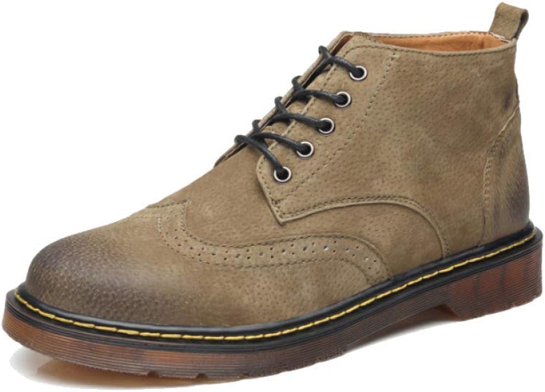 AEYMF England Autumn and Winter Mans skor skor skor Casual Wear Tooling skor Store Storlek  försäljning
