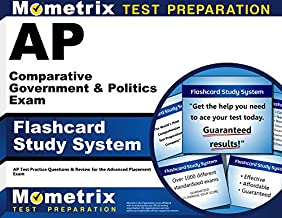 AP Comparative Government & Politics Exam Flashcard Study System: AP Test Practice Questions & Review for the Advanced Placement Exam (Cards)