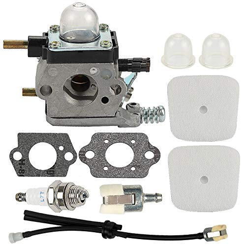 Allong C1U-K54A Carburetor with Air Filter Repower Kit for 2-Cycle Mantis 7222 7222E 7222M 7225 7230 7234 7240 7920 7924 Tiller/Cultivator