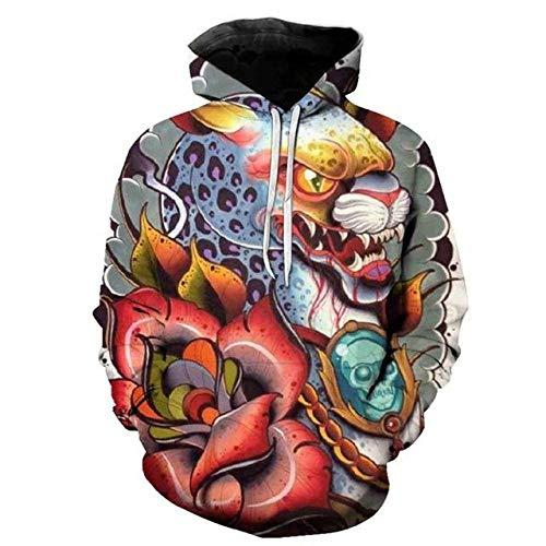zysymx Moda Cool Hip Hop Sombreros Sudaderas Casual Streetwear y wo Jerseys Harajuku Devil Sudadera Hombres en