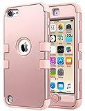 ULAK iPod Touch 7 6 5 Coque, iPod 6 Housse Étui de Protection Anti-Choc Matériaux...