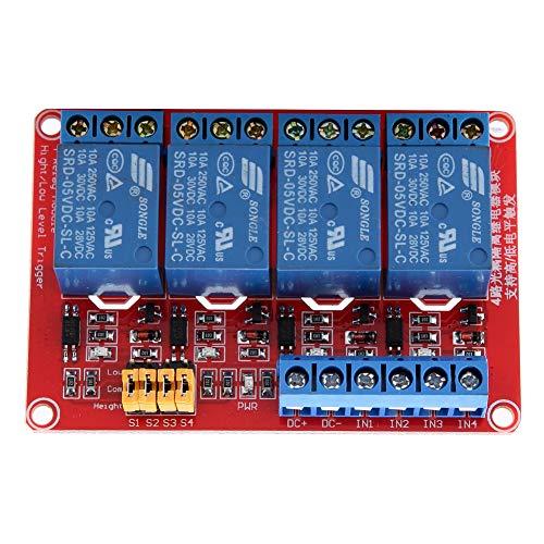 Modulo relè 4 canali CC 5V Modulo relè con fotoaccoppiatore Per Caldaie