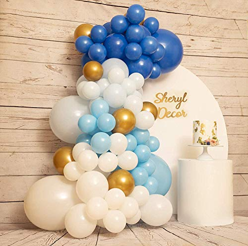 light blue baby decorations - 4