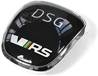 Plakette VRS Schaltknauf DSG Blende RS Clip chrom/schwarz 5E0713146F