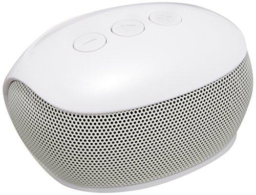 エレコム Bluetooth ブルートゥース スピーカー テレビ用ワイヤレススピーカー 送信機セット 3W出力 8時間再生 通信距離10m ホワイト LBT-SPP20TVWH