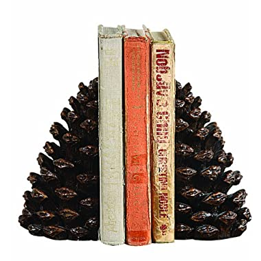 Creative Co-Op Resin Pinecone Bookends
