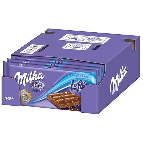 Milka Luflee 11er Pack, (11x 100g)