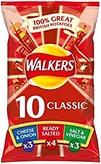 Walkers Classic Variety Crisps 12 X 25G