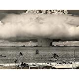 Wee Blue Coo Vintage Photography Atomic Bomb Mushroom Cloud