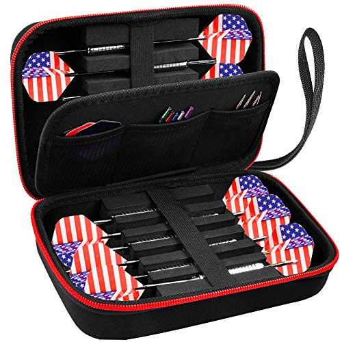 ALKOO Dart Case Holds 12 Steel Tip and Soft Tip...