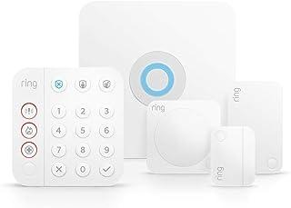 5-delige Ring Alarm-set (2de generatie) van Amazon - thuisbeveiligingssysteem met optionele geassisteerde bewaking. Geen l...