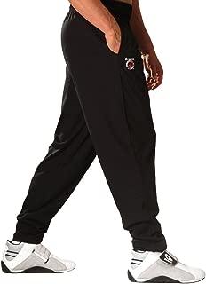 Otomix Men's 100% Cotton Solid Color Baggy Bodybuilding Workout Pants