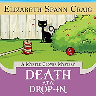 Death at a Drop-In audiobook cover art