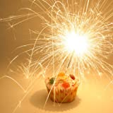 10 Mini Sparklers - Perfect for a Birthday Cup Cake - Adult Supervision advisable