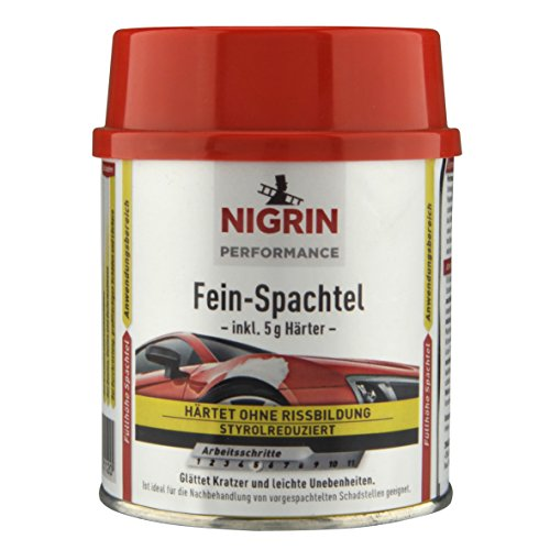 NIGRIN 72112 Performance Fein-Spachtel 250 gm