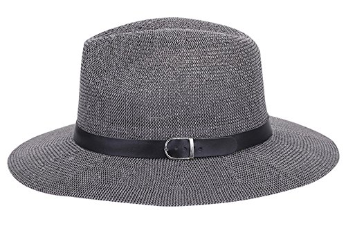 AIEOE Sombrero de Paja Gorro Protección Solar con ala Ancha Casual de...