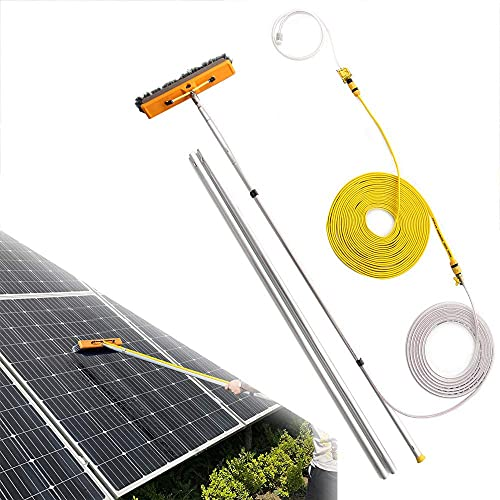 SFSGH Limpieza de Paneles fotovoltaicos y solares, Equipo de Lavado de 4,5 a 9 m Limpieza de Postes de extensión para Camiones, Ventanas, Ventanas, Paredes de Vidrio, Paneles fotovoltaic
