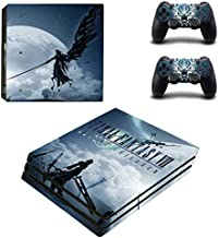 PS4 Pro Console Skin Set Vinyl Decals Stickers for Playstation 4 Pro Console Dualshock 2 Controllers Game (PS4 Pro Only) by Teemeow