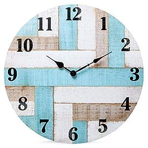 516atYPhLKL._SS300_ Coastal Wall Clocks & Beach Wall Clocks