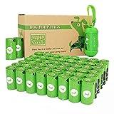 PET N PET - Bolsas para caca con 1 dispensador y clip de correa para perro, 720 unidades