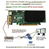 ATI Radeon X1300 256MB PCI-Express Video Card with DMS-59 adapter