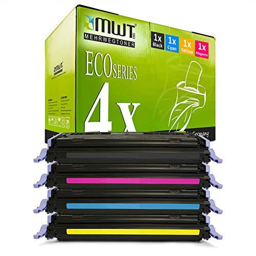 4X MWT Remanufactured Toner für HP Color Laserjet 1600 2600 2605 DN N DTN ersetzt Q6000A-03A