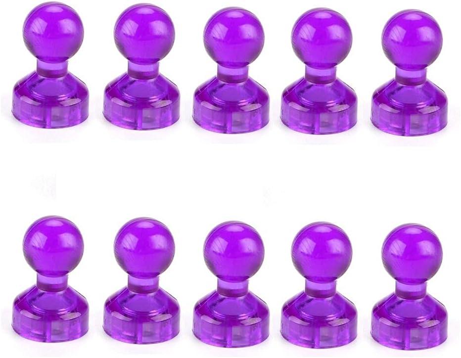 FEIHUI Finally resale start 10Pcs Colorful Push Pin Pins Magnetic Strong Nashville-Davidson Mall Magnet