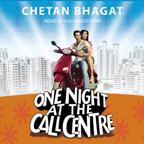 One Night at the Call Centre audiobook cover art